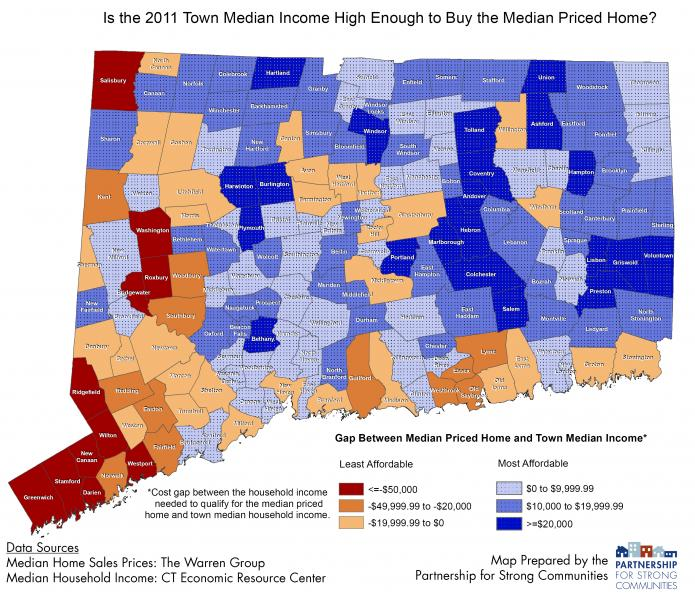 High Income Group House Map : Now Available: Affordability in Connecticut, 2011  Partnership for ...