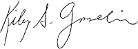Kiley Gosselin signature